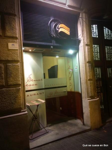 Restaurante Sense Pressa Qué se cuece en Bcn donde comer barcelona (1)