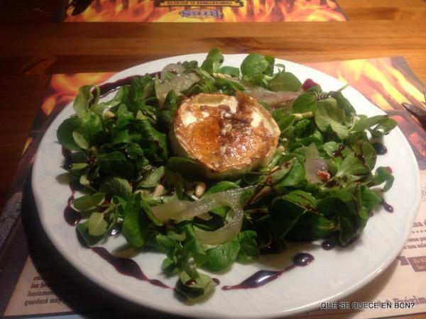 Cheese & sweet Salad